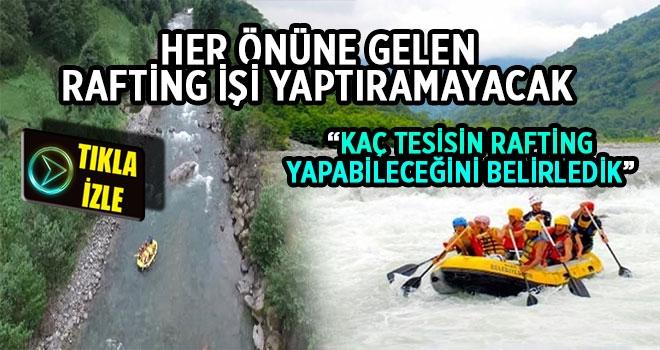 Fırtına Vadisi'nde Kaç Tesis Rafting Yaptırabilecek?