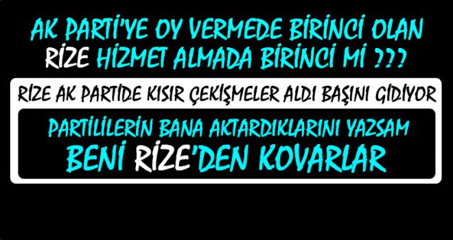 Trabzon Yatırımda Malı Götürüyor, Peki Rize ?