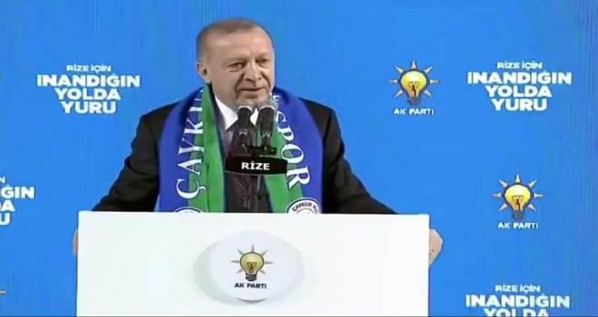 Erdoğan, Rize Havalimanının Açılacağı Tarihi Açıkladı