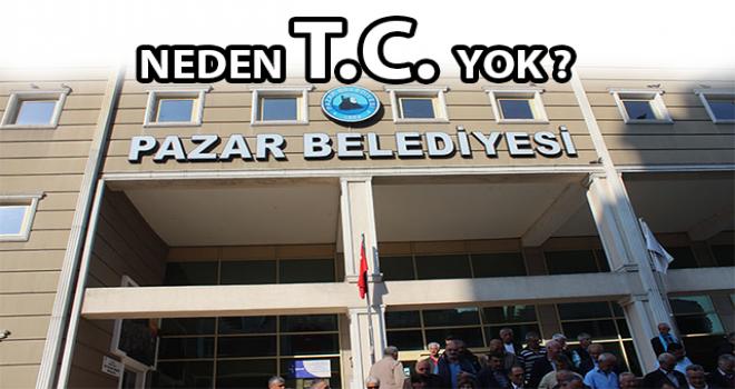 CHP'den Belediye Önünde T.C. Açıklaması