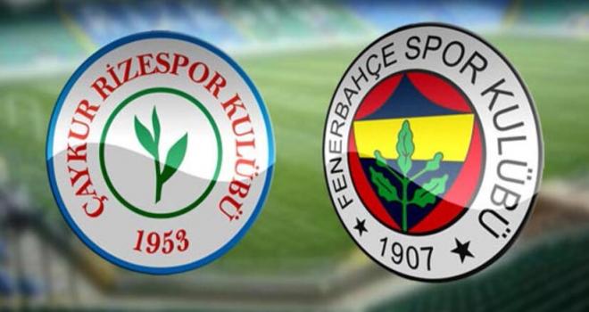Süper Ligde İlk Maç Çaykur Rizespor - Fenerbahçe