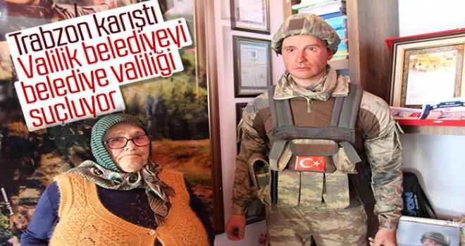 Trabzon Valiliği'nden Şehit Heykeli Açıklaması