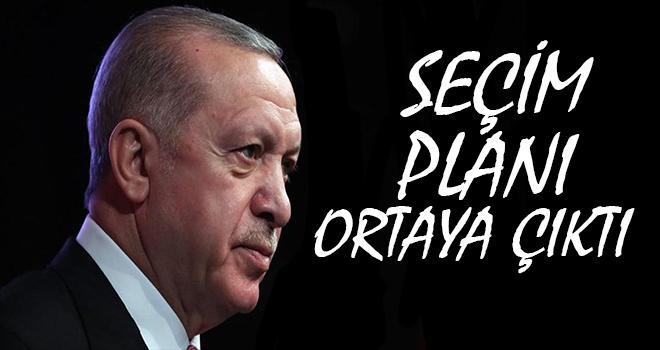Cumhurbaşkanı Erdoğan'ın 7 Maddelik Seçim Planı