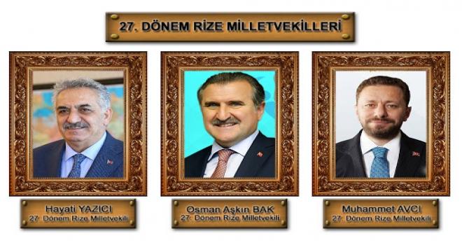 Rize'den Ankara'ya Gönderilen Vekiller Nerede?