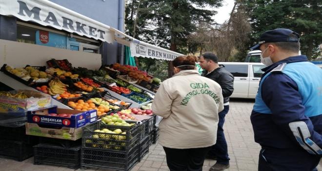 Rize'de Açıkta Satılan Gıda Maddeleri Denetlendi