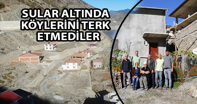 Yeni Köylerini Barajın Üstüne İnşa Ettiler