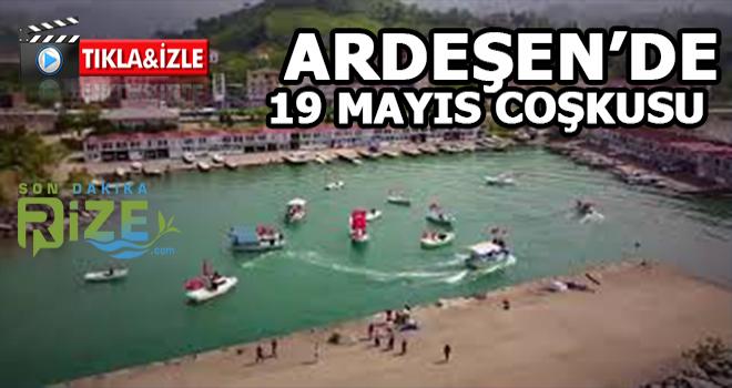 Rizeli Balıkçılarından 19 Mayıs Kutlaması
