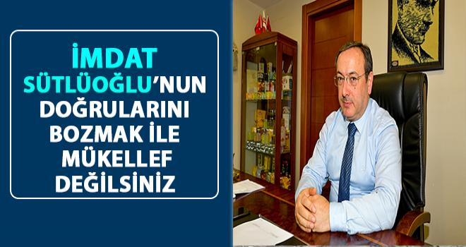 Çaykur Genel Müdür Vekili Alim'e Sütlüoğlu Tepkisi