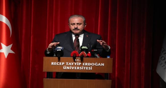 TBMM Başkanı Mustafa Şentop Rize'de