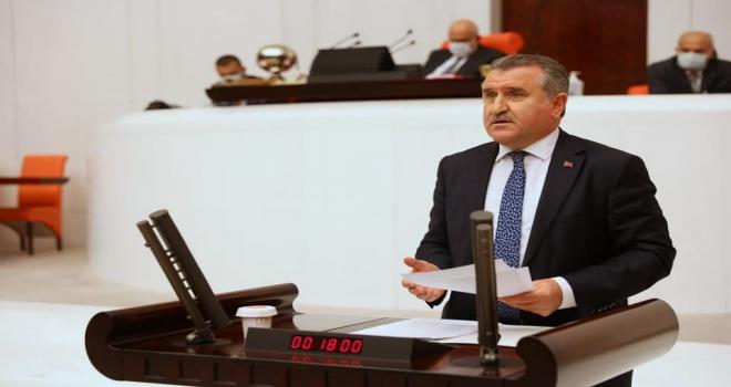 Rize Milletvekili Osman Aşkın Bak TBMM'de Konuştu