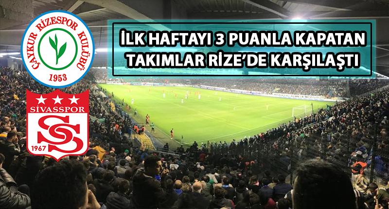 Çaykur Rizespor 2'de 2 Yaptı