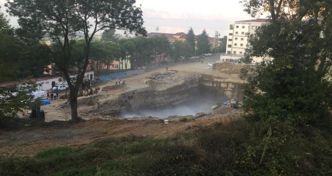 Karadeniz Teknik Üniversitesi'nde Korkutan Patlama