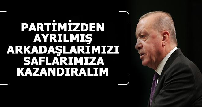 Erdoğan: Kaybetmeyeceğiz, Yeniden Kazanacağız