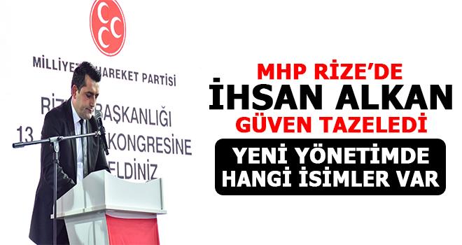 MHP Rize 13. Olağan Kongresi Yapıldı