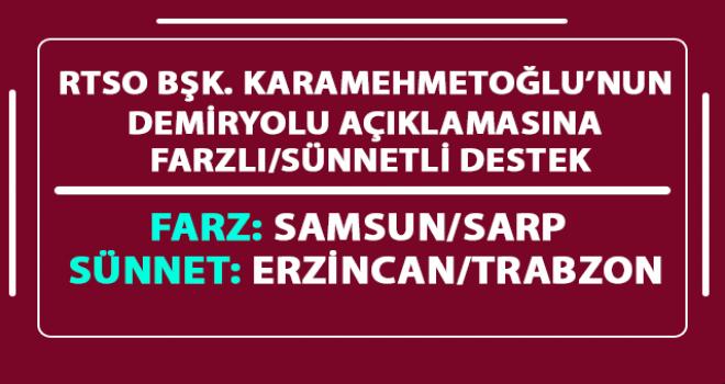 Samsun - Sarp Demiryolu Farzdır Farz