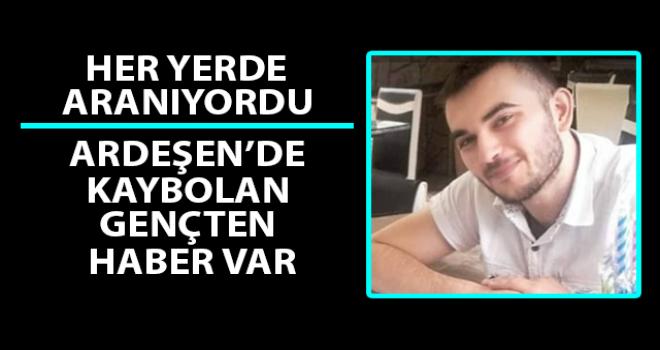 Rize'de Kaybolan 22 Yaşındaki Niyazi'den Haber Var