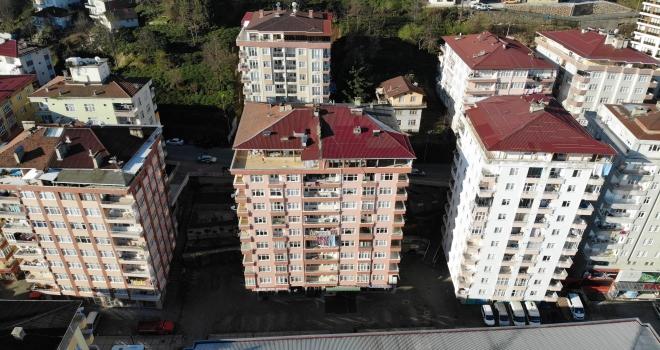Rize'de 10 Katlı Bina Tahliye Edildi - TIKLA İZLE