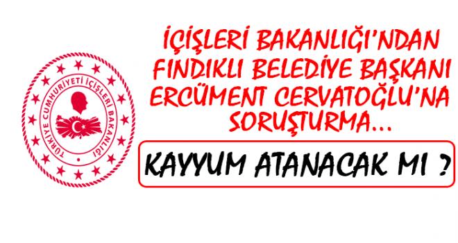 Fındıklı Belediyesine Atatürk Parkı Soruşturması