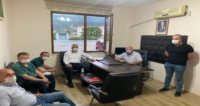 Başkan Adayı Memoğlu Ziyaretlerini Sürdürüyor