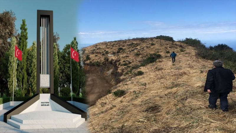 Fındıklı'ya Şehitlere Saygı Anıtı Yapılacak... Çalışmalar Başladı
