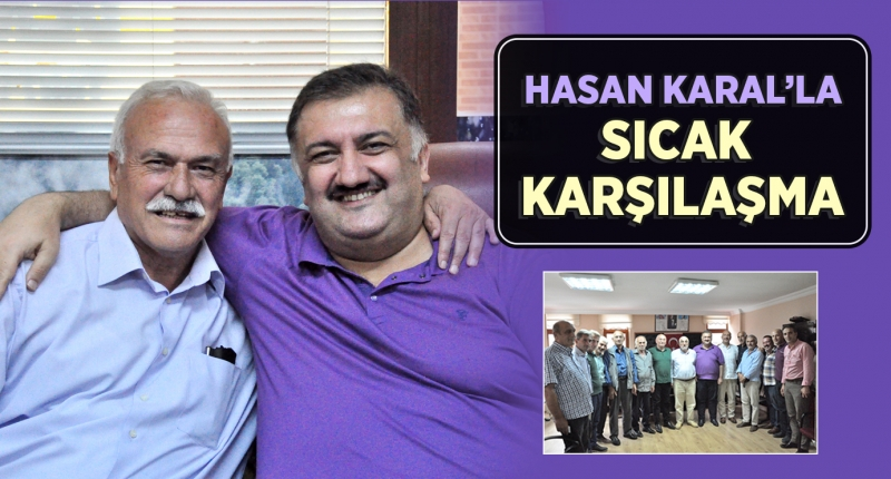 Hasan Karal'a Ardeşenli Muhtarlardan Sıcak Karşılama