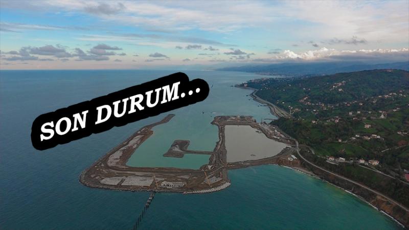 Rize Havalimanı'nda Denize 14,5 Milyon Ton Taş Döküldü