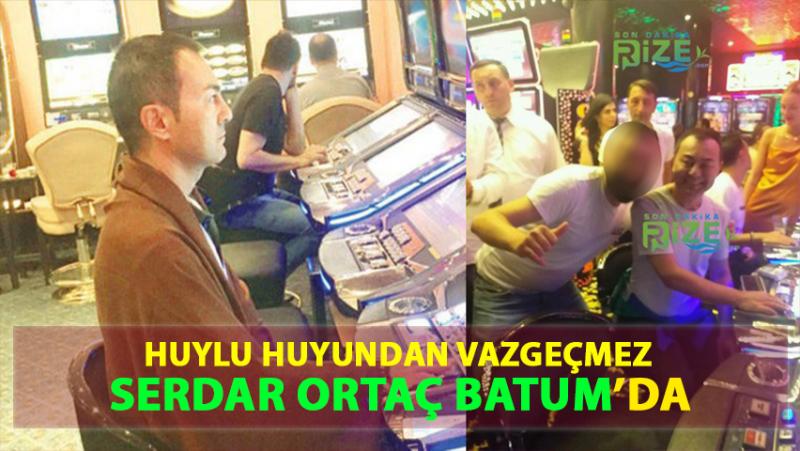Serdar Ortaç'ın Batumda Kumar Oynarken Görüntüleri Ortaya Çıktı