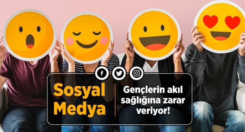 Sosyal Medya Gençlerin Akıl Sağlığına Zarar Veriyor