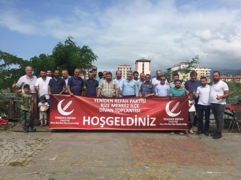 Yeniden Refah Partisi Merkez İlçe Toplantısı Ardeşen'de Yapıldı