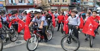 Rize'de Bisiklet Turu İle Farkındalık Yarattılar