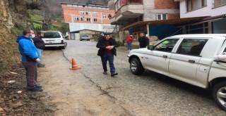 Rize'de Köylülerin Gönüllü Dezenfekte Timi