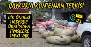 Çay Üreticisinden ÇAYKUR'a Kontenjan Tepkisi